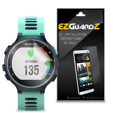 3X EZguardz Screen Protector Skin 3X For Garmin Forerunner 735XT