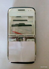 for nokia e72 body panel faceplate housing white with metal battery door new