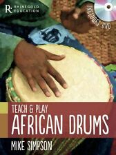 Teach Play African Drums Learn Djembe Drumming Gumboot Senegalese Music Book