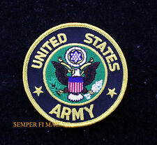 "US ARMY 3"" HAT PATCH USA EAGLE SEAL LOGO EMBLEM PIN UP FORT CAV INF ARTI GIFT"