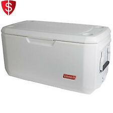 Cooler Ice Chest Outdoor Camping Plastic Marine Garden Box Picnic 120 Quart