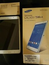 Samsung Galaxy Tab4 8Gb SM-T23ONU White Tablet 4 7 Inch Screen Wifi Touchpad