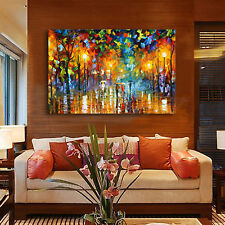 Modern Large Hand-painted Art Oil Painting Wall Decor Canvas No Frame 36""