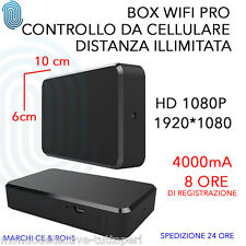 spy camera spia wifi HD 1080P 1920*1080 motion detection app controllo cellulare