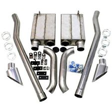 """JBA SIDE EXIT EXHAUST 50-2651 2.5"""" 65-70 MUSTANG E SIDE EXHAUST KIT"""