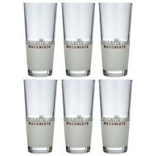 6 Latte Macchiato Gläser Rastal 435 ml Macchiato Glas Kaffeegläser Motiv Glas