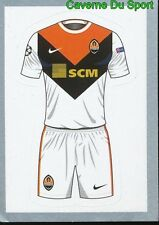 012 AWAY SHIRT KIT FC SHAKHTAR DONETSK STICKER CHAMPIONS LEAGUE 2016 TOPPS