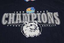 XL blue UCONN Husky 1999 NCAA champs UNWORN w/ TAG!