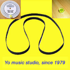 For Bang & Olufsen Beogram 2400 FISHER MT-420 BSR XL-1400 turntable belt+BUBBLE