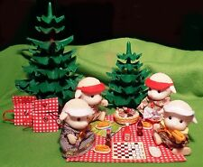 Calico Critters Sylvanian Families Handmade 7 Piece Picnic Pack! So Cute!