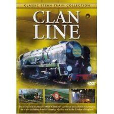 Classic Steam Clan Line 35028 (New DVD) Railway Locomotive engines Trains