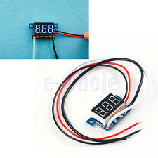 Mini Blue LED 0.36 0-5A Digital Panel Eletrical Current Ampere Meter BE