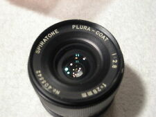 Spiratone Plura-Coat 28mm f/2.8 wide angle lens for Minolta MC/MD