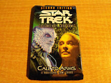 STAR TREK CCG 2E CALL TO ARMS SEALED BOOSTER PACK OF 11 CARDS