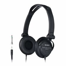 Sony MDR-V150 Monitoring Headphones with Reversible Ear Cups - Black