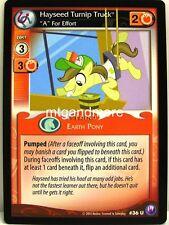 """My Little Pony - #036U Hayseed Turnip Truck, """"A"""" For Effort - Canterlot Nights"""