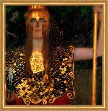 Pallas Athene Nackte Wahrheit Femmes fatale Statuette LW Gustav Klimt A2 060