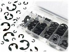 300pc E Clip Eclip Retaining Ring Assortment Radial External Shop Garage W/ Case