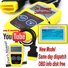 Universal CAR OBD2 EOBD CAN Fault Code Reader Scanner diagnostic scan tool