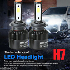 H7 110W COB CREE LED 20000LM Auto Car Headlights Driving Bulbs Lamps Kit 6000K