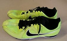 Nike Rival MD racing neon yellow track and field cleats size 11