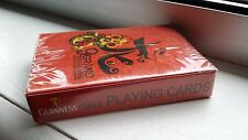 GUINNESS BEER PLAYING CARDS RED DRAGON BRAND NEW IN BOX SEALED 2012