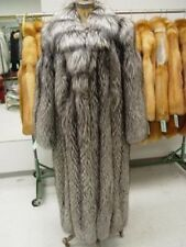BRAND NEW SILVER FOX FUR COAT JACKET WOMEN MEN