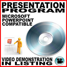 Powerpoint Equivalent for Microsoft Windows: PC DVD 2010 2013 Software MS