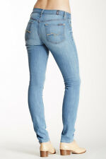$178 NEW 7 For All Mankind Gwenevere Super Skinny Jeans in Laurel Ridge Wash 25