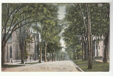 [54056] OLD POSTCARD STATE STREET IN PORTLAND, MAINE