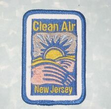 "Clean Air New Jersey Patch - 2"" x 3"""