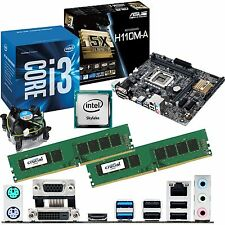 INTEL Core i3 6100 3.7Ghz & ASUS H110M-A & 8GB DDR4 2133 CRUCIAL bundle
