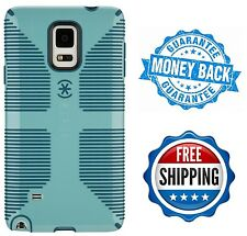 Samsung Galaxy Note 4 Case Hard Cover Shockproof Blue CandyShell Speck Luxury