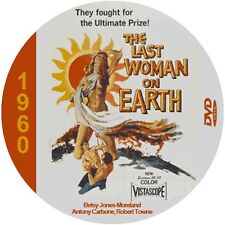 """The Last Woman On Earth (1960) Sci-Fi  and Horror NR CULT """"B"""" Movie DVD"""