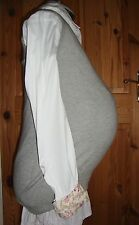 BNWT MATERNITY Ladies Pale Grey Wool/Cashmere Blend Tank Top Size S - 10-12