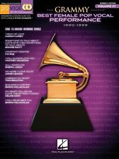 The Grammy Awards Best Female Pop Vocal Performance 1990-99 Voice Music Book &CD