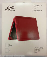 "Sena Zipper Leather case for iPad 2, 3, & 4 Fits All 9.7"" iPads - Red"