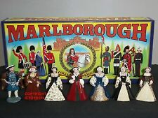 MARLBOROUGH MODELS KING HENRY VIII + HIS SIX WIVES METAL CIVILIAN FIGURE SET