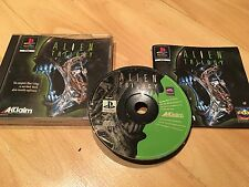 Alien Trilogy - Sony Playstation 1 Game - PS1 PS2 PS3 - PAL  Black Label
