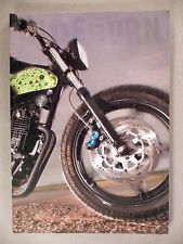 Sideburn Magazine #6 ~~ motorcycle mag ~~ NM condition ~~ Side Burn