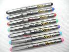 7 Colours, Pilot SVP-20MS Vpen Medium Nib Disposable Colourded Ink Fountain Pen