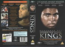Muhammad Ali When We Were Kings Video Promo Sample Sleeve/Cover #10975
