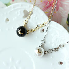 2 PCS Anime Sailor Moon Chibi Usa Cosplay Chains Necklace Pendant Accessories