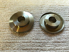 Yamaha rd350lc 4l0 stainless steel rear wheel spacer. Sprocket side