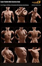 "Phicen 1/6 Scale 12""  Super Flexible Seamless Male Body Doll Figure Tall M31"