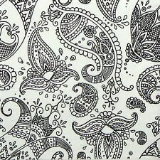 4 Single Table Party Paper Napkins for Decoupage Decopatch Craft Vintage Paisley