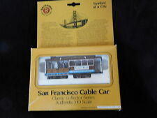San FRANCISCO *CABLE CAR* *TROLLEY* *SMIRNOFF &  PEPSI* HO Scale Train *mint*