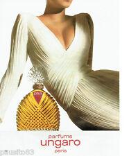 PUBLICITE ADVERTISING  046  1985   le parfum Diva Ungaro