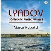 LYADOV: COMPLETE PIANO WORK NEW & SEALED