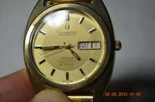 gold filled omega constellation   f300 in excellent condition